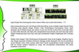 Copy Writing VIDEO BELAJAR SALON 2017 final 2 Page 02 300x199 Video Belajar Salon Kecantikan